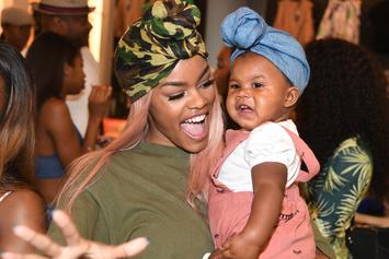 Teyana Taylor Shows Off Daughter Junie's Houston Get-Up