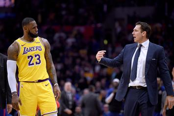 Luke Walton Defends LeBron James Over Bad Performance Against Knicks