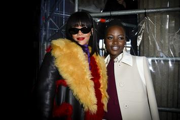 Lupita Nyong'o & Rihanna Are Working On A Secret Project