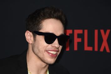 Pete Davidson & Kate Beckinsale Can't Keep Their Hands Off Each Other