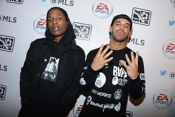 "Drake & A$AP Rocky's Worlds Collide In ""Splashiest"" Photo"