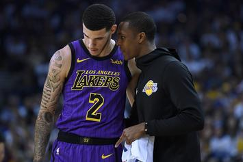 """Lakers Quizzed Lonzo Ball Over Concerns """"Big Baller"""" Sneakers Caused His Injury"""