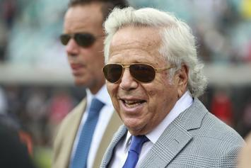 "Robert Kraft Shows Face For The 1st Time Since Prostitution Charges: ""I Am Truly Sorry"""