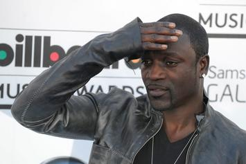 """Akon Plots The Family Business: Teases His Teenage Son's """"Konvict Music"""" Debut"""