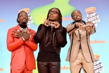 Migos Saunter Through A Medley Of Bangers At 2019 Kid's Choice Awards