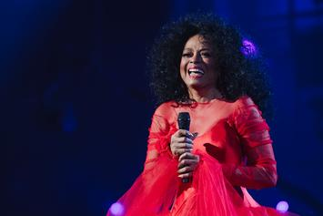 "Beyoncé Sings ""Happy Birthday"" To Diana Ross As Diddy Looks On"
