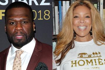 """50 Cent Trashes Wendy Williams Hard: """"It Was The Drugs"""""""
