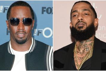 """Diddy Shares Video Of Studio Time With Nipsey Hussle: He's What """"Our Culture Needs"""""""