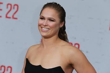 "Ronda Rousey Posts Mugshot After Being ""Arrested"" On Monday Night Raw"