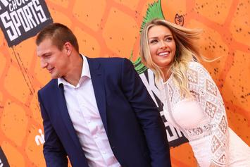 Rob Gronkowski's Girlfriend Stuns In Short Skirt During Photo Shoot