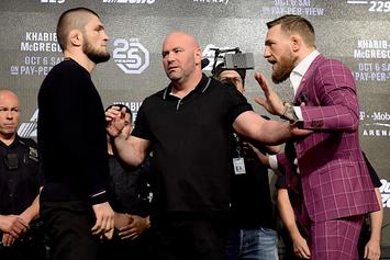 UFC's Dana White Issues Statement On Ugly Khabib-Conor Feud