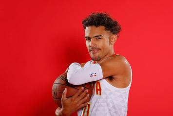 "Trae Young Debuts ""Ice Trae"" Adidas N3XT L3V3L PE: Photos"