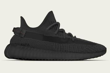 "Adidas YEEZY BOOST 350 V2 ""Triple-Black"" Reportedly On The Way"