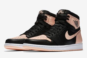 "Air Jordan 1 ""Crimson Tint"" Releasing This Week: New Details"