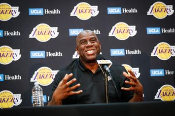 Magic Johnson Abruptly Steps Down As Lakers President of Basketball Operations