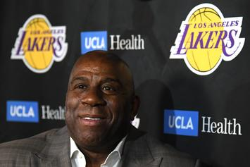 "Rick Fox On Magic Johnson Leaving The Lakers: ""We All Care About Him"""
