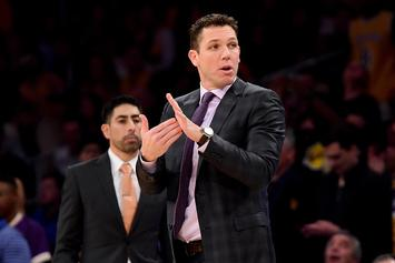"""Luke Walton """"Clear Front-Runner"""" For Kings Head Coaching Job If Fired By Lakers"""