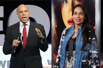 Cory Booker Reveals How He Hooked Up With Rosario Dawson