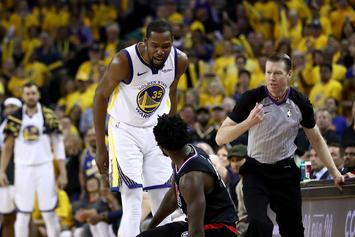 "Steve Kerr Unimpressed With Kevin Durant's Ejection In Game 1: ""We Took The Bait"""