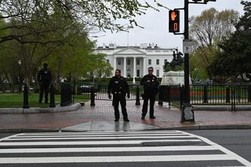 Unidentified Man Sets Himself On Fire Outside The White House