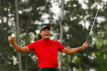 Tiger Woods Wins His Fifth Masters Title