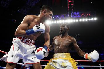 Terence Crawford Scores 6th Round TKO Over Amir Khan After Accidental Low Blow