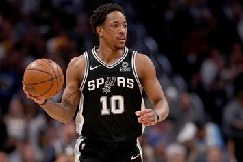 DeMar DeRozan Fined $25K For Throwing Ball At Referee: Report