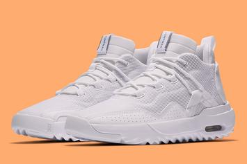 "Jordan Aero Morph Revealed In ""Triple-White"" Colorway: Official Images"