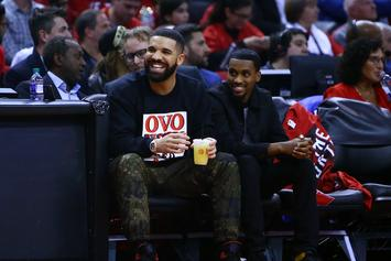 "Drake Wants To Know If Media Wants To Talk About ""Curse"" Following Raptors Win"