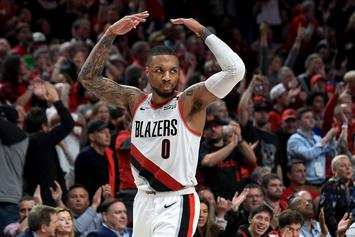 "Damian Lillard On Night Before Game 5: ""I'm Getting Rid Of These Mother F*ckers"""