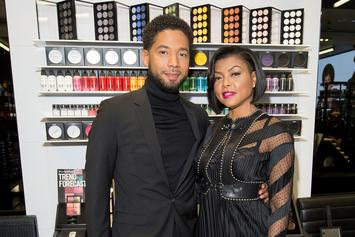 """Jussie Smollett Spotted At Friendly Lunch With """"Empire"""" Execs: Report"""