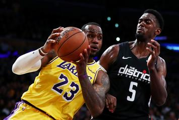 LeBron James & The Los Angeles Lakers Lead NBA In Jersey Sales