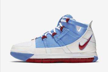 "Nike LeBron 3 ""Houston Oilers"" Releasing Soon: Official Images"