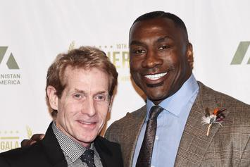 "Skip Bayless Warns Antonio Brown That He Wants ""No Part Of Ryan Clark"""