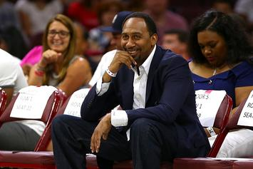 Stephen A. Smith Hilariously Reacts To D'Angelo Russell's Marijuana Incident