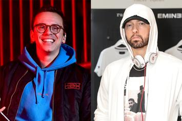 "Logic Shares Perfect Meme To Describe Eminem Collab ""Homicide"""