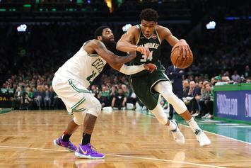 "Kyrie Irving Bitter Over Giannis Antetokounmpo's 22 Free Throws: ""It's Getting Ridiculous"""
