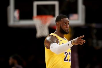 "LeBron James Showers Zion Williamson With Praise On ""The Shop"""