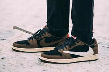 Travis Scott X Air Jordan 1 Low Coming Soon: On-Foot Photos