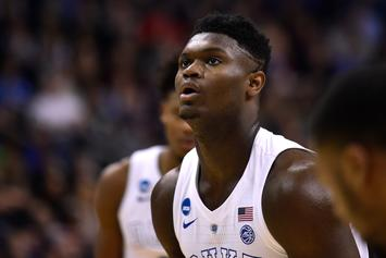 "Zion Williamson Was A ""Hell Of A Poet"" Back In High School"