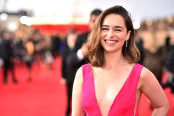 "Emilia Clarke Jokingly Solves Mysterious ""Game Of Thrones"" Starbucks Cup Case"