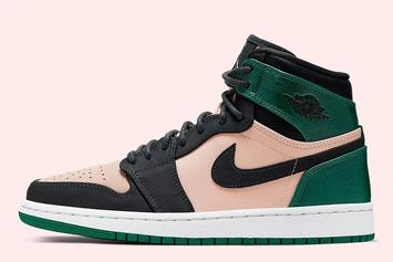 "Air Jordan 1 Retro High ""Metallic Green"" Coming Soon: Official Photos"