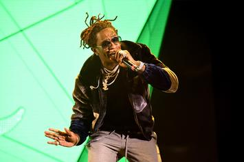 Young Thug Accedes To Nardwuar's Interview, While Travis Scott Idles Onstage