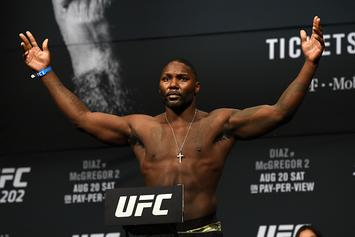 "Anthony ""Rumble"" Johnson Pleads Not Guilty In Domestic Violence Case"