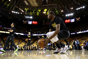 Warriors' Kevin Durant Ruled Out For Game 2: Report