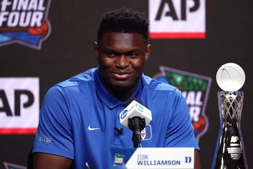 Zion Williamson's Stepfather Denies Rumors Of Return To Duke