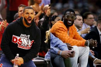 Drake & Gucci Mane Exchange Playful Shots Over Heated NBA Playoffs