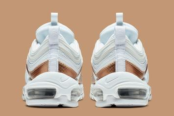 "Nike Air Max 97 ""Bronze"" Colorway Releasing Soon: Official Images"
