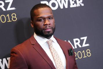 50 Cent Cleans His Tires With Champagne After Collecting Money From Debtors