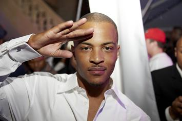 T.I. Honors Nipsey Hussle's Memory During Capitol Hill Trip
